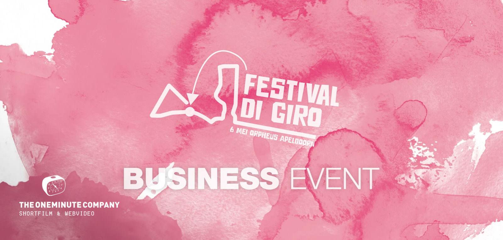 Event Promo - Giro d'Italia VIP event - Theater Orpheus Apeldoorn